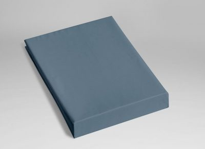 Yumeko hoeslaken katoen Tencel mid blue