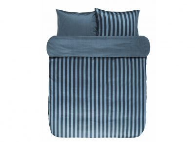 Marc O'Polo dekbedovertrek Classic Stripe deep blue