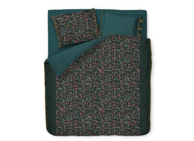 Pip Studio dekbedovertrek Midnight Garden green