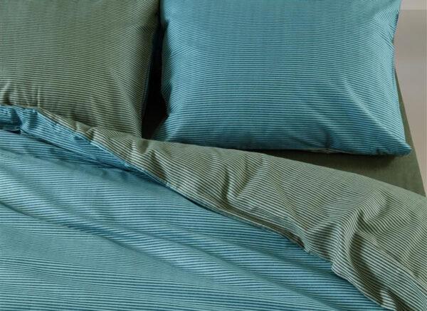 At Home dekbedovertrek All Lines blue
