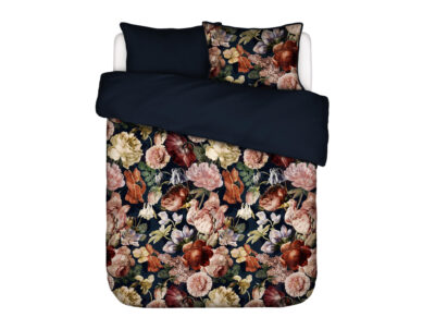 Essenza Home dekbedovertrek Claire indigo blue