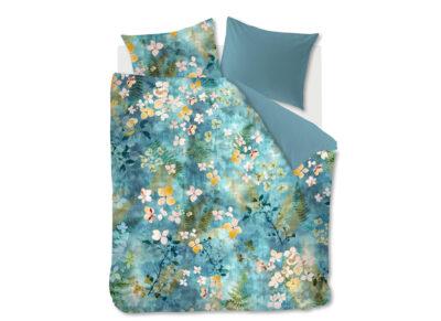 Beddinghouse dekbedovertrek Morning Whisper blue green