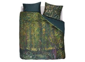 Beddinghouse x Van Gogh Museum dekbedovertrek Trees green