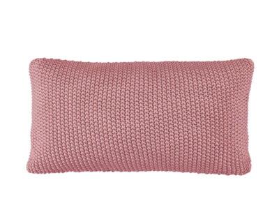 Marc O'Polo sierkussen Nordic Knit ash rose 30×60