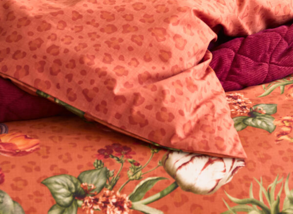 Essenza Home dekbedovertrek  Femm ginger