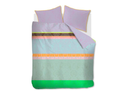 Oilily dekbedovertrek Paisley Stripes multi