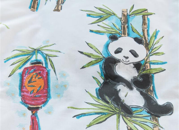 Beddinghouse Kids dekbedovertrek Panda Dream multi
