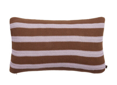 Marc O'Polo sierkussen Structure knit toffee brown