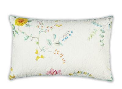 Pip Studio sierkussen Fleur Grandeur quilted white 45×70