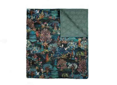 Pip Studio sprei Garden dark blue