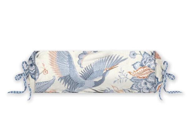 Pip Studio Royal Birds rolkussen blue