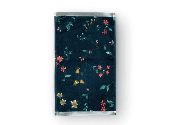 PIP Studio badgoed Les Fleurs dark blue