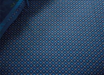 Pip Studio hoeslaken Startile dark blue