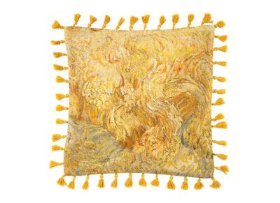 Beddinghouse x Van Gogh Museum sierkussen Wheatfield yellow