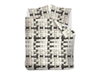 Ariadne dekbedovertrek Comfort black white