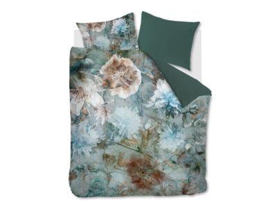 Kardol dekbedovertrek Erode blue green