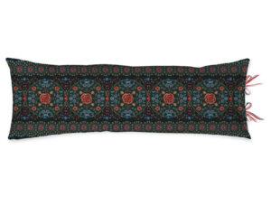Pip Studio sierkussen Forest Carpet dark blue 30x90 cm