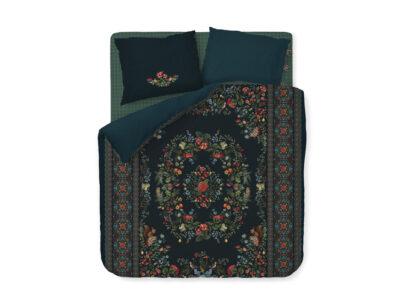 Pip Studio dekbedovertrek Forest Carpet dark blue