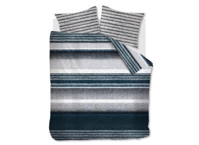 Riviera Maison dekbedovertrek Mohair blue