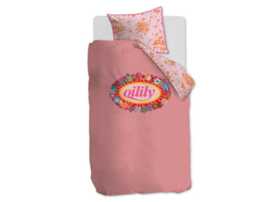 Oilily dekbedovertrek Prom Flowers pink