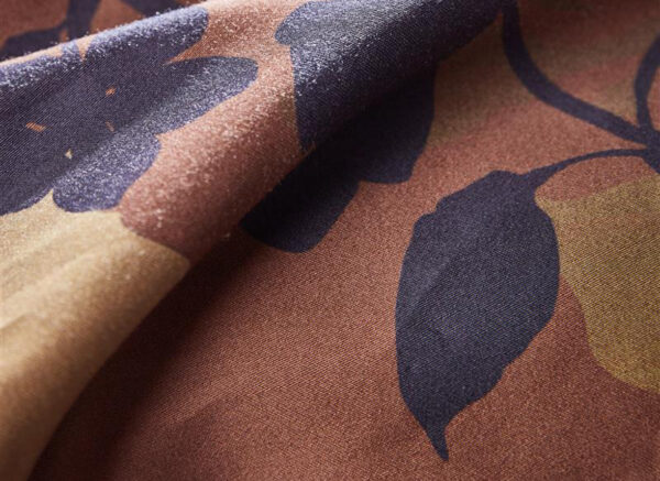 Kardol dekbedovertrek Silueta brown