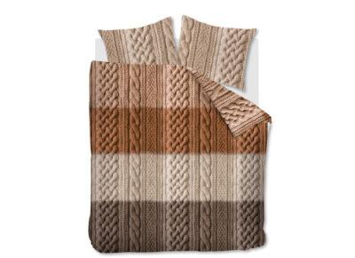 Ariadne dekbedovertrek Snug brown