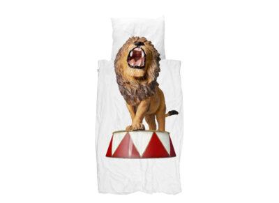 Snurk dekbedovertrek Lion