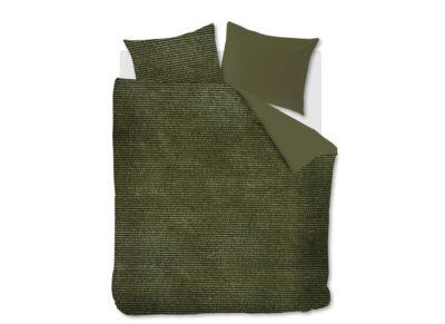 At Home dekbedovertrek Cosy Corduroy green