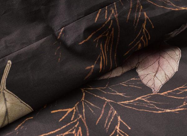 Essenza dekbedovertrek Elin darkest brown
