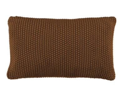 Marc 'O Polo sierkussen Nordic knit toffee brown 30x60
