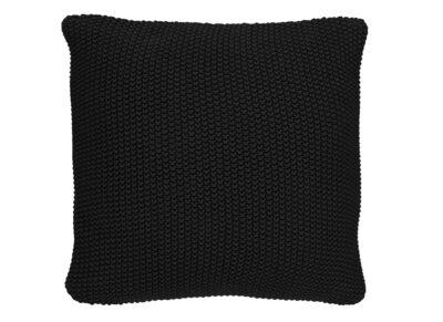 Marc 'O Polo sierkussen Nordic knit black 50x50